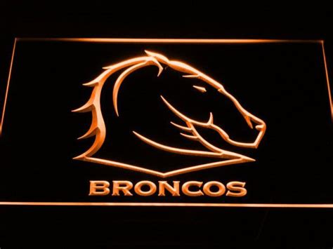 The brisbane broncos acknowledges the traditional custodians of the land on which we operate, live and gather as employees, and recognise their continuing connection to land, water and community. Brisbane Broncos LED Neon Sign | Led neon signs, Brisbane broncos, Neon signs
