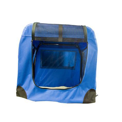 transportbox hund faltbar hundetragetasche gr 246 223 e hundebox blau transportbox katze hund faltbar solide