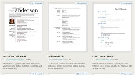 Resume Free Templates Microsoft Word by 275 Free Resume Templates For Microsoft Word