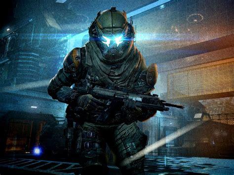 titanfall sci fi mecha robot futuristic mecha warrior