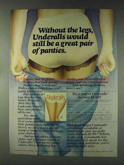 hanes underalls ad   legs  great