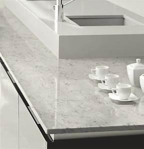 Plan De Travail Cuisine Marbre : marbre pour la cuisine nettoyage blanc c t maison cosmeticuprise ~ Melissatoandfro.com Idées de Décoration