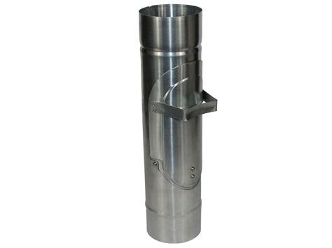 Regenwasserklappe Aus Zink Mit Sieb Kaufen Bei Blechshop24