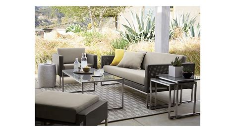 patio crate and barrel patio furniture home interior design