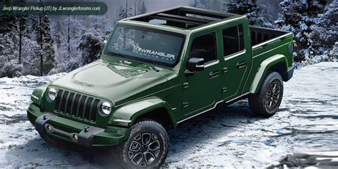 jeep wrangler truck 2017 jeep wrangler pickup unlimited colors release date