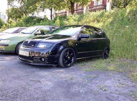 Fabia Vrs on Porsche wheels (With images)   Skoda fabia ...