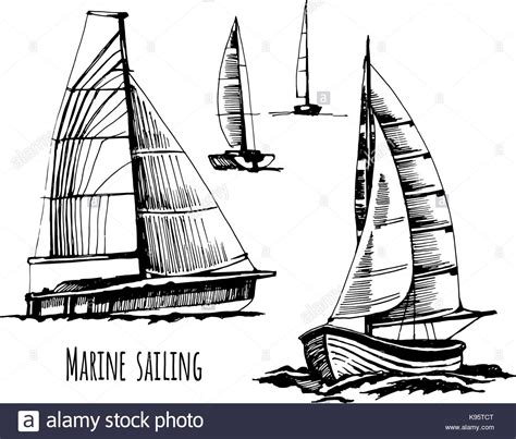 Boat Journey Drawing by Journey Boat Drawing Stock Photos Journey Boat Drawing