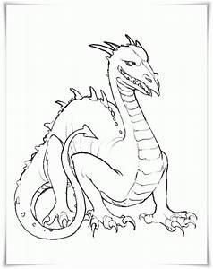 Ausmalbilder Zum Ausdrucken Ausmalbilder Drachen