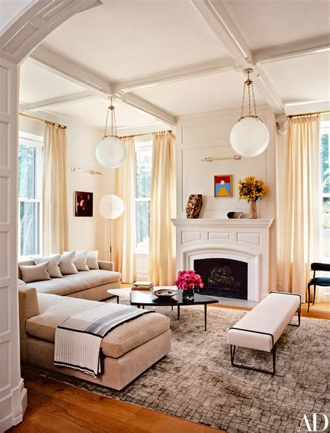 amazing living room makeovers  architectural digest