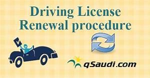 Driving license renewal procedure qsaudicom for Procedure for driving license renewal