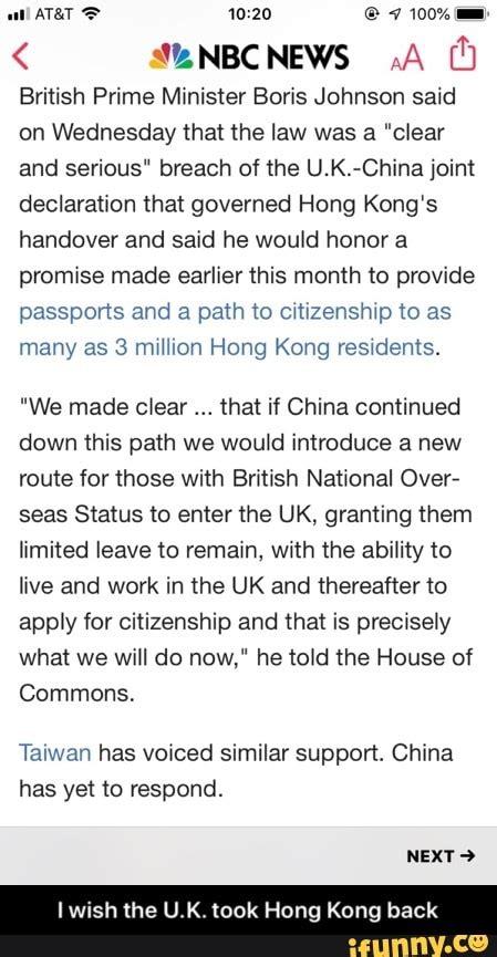 E ATAN O British Prime Minister Boris Johnson said on ...