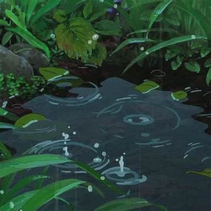 Aesthetic Anime Rain Stop Let Don