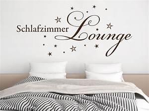 Wandtattoo schlafzimmer lounge von klebeheld for Wandtattoo schlafzimmer