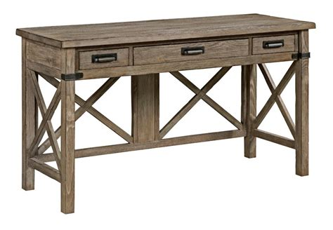 gray desk with drawers rustic weathered gray desk with keyboard drawer and