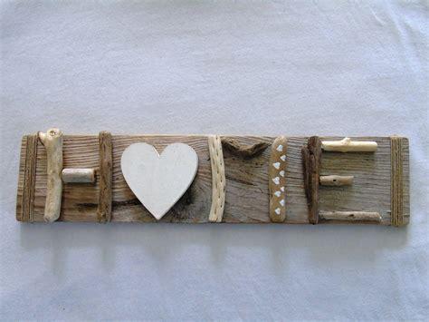 cadre en bois flotte decoration cadre bois flott 233 quot home sweet home quot esprit nature d 233 corations murales par cap ouest