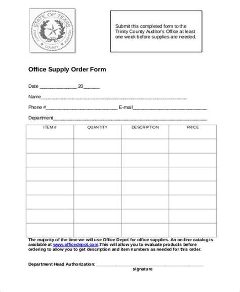 printable order form 9 printable order form sles sle templates