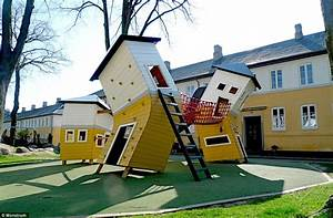 Giant spiders, wobbly castles, and rocket ship slides ...