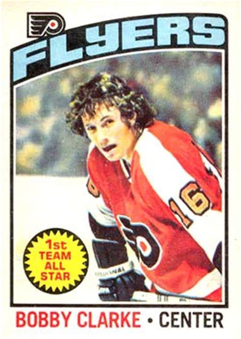 topps bobby clarke  hockey card  price guide