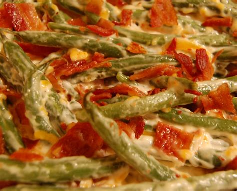 green bean casserole recipe  bacon