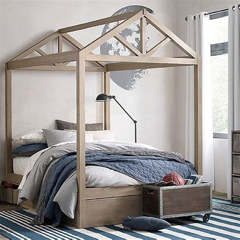 house bed frame  full queen sized bed  bestkiddos