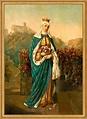 Heilige Elisabeth von Thüringen Schutzpatronin Not Waisen ...