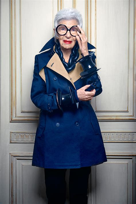 iris apfel interview  style   blue illusion
