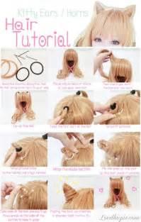 cat ear hair cat ear hair tutorial