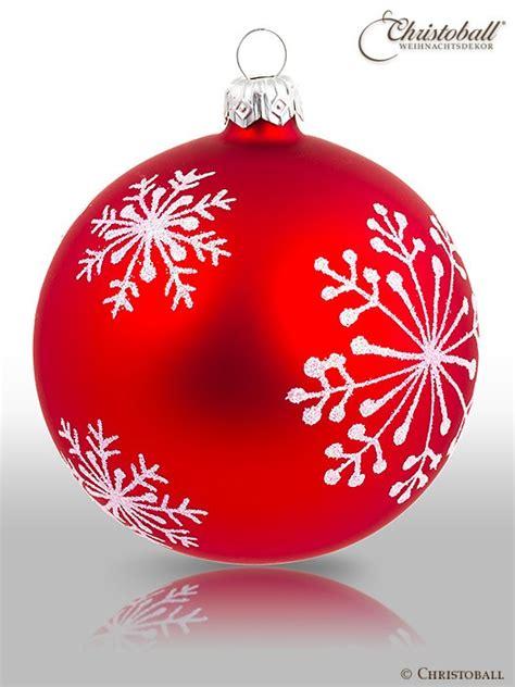 Weihnachtsdeko Noch Mehr Christbaumkugeln by Christoball Schneefl 246 Ckchen Weihnachtskugel