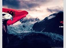 Albanian Flag Wallpapers Desktop Background