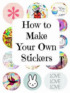How to print your own stickers using picmonkey marcia for Create and print stickers