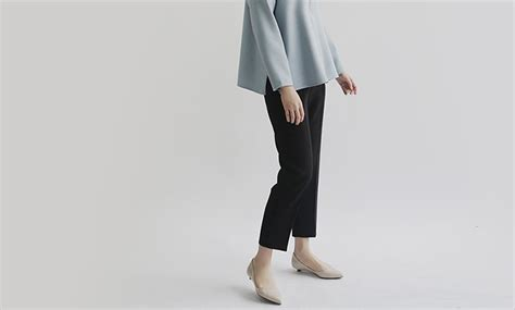 Baker Underwear / Tapered Pants Lady's / Cropped