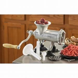 Realtree U00ae Manual Meat Grinder    Sausage Stuffer