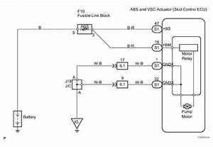 A Replace Abs Traction Actuator Dtc C Open Or Short Circuit In Abs Solenoid Relay Circuit