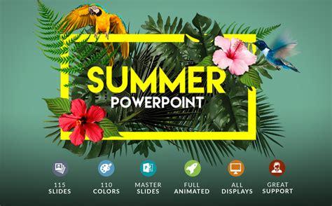 summer powerpoint bonus powerpoint template