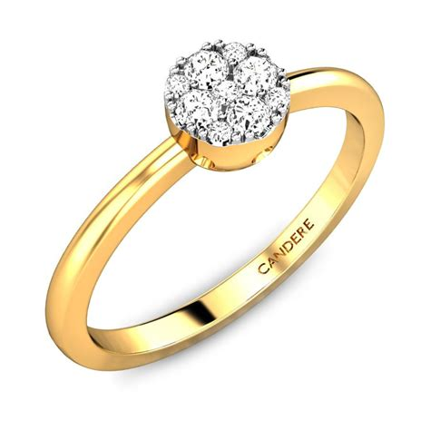 wedding ring gold gallery eily ziah diamond ring online jewellery shopping india