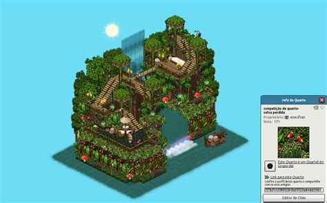walk   habbo jungle books habbo happy