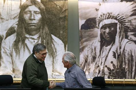 ag unveils plan  missing native americans