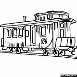 Train Coloring Pages Steam Engine Caboose Clip Front Trains Locomotive Clipart Sheets Boys Printable Cars Drawing Engines Thecolor Colors Books sketch template