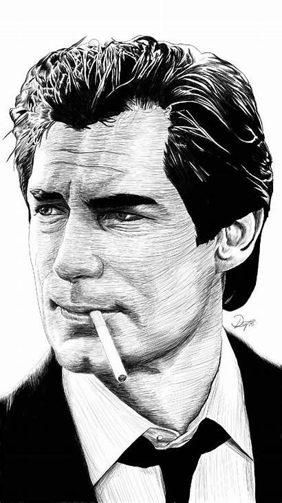 Bond James Dalton Timothy Sketches Artpal Sketch