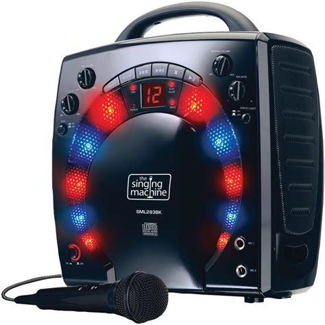 karaoke machine for the singing machine sml 283p review singing tips and karaoke machine reviews