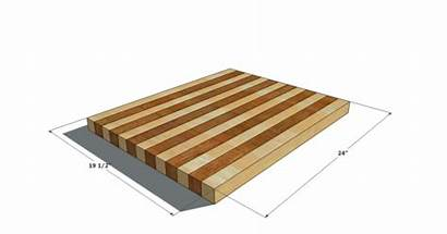 Cutting Board Block Plans Butcher Build Homemade