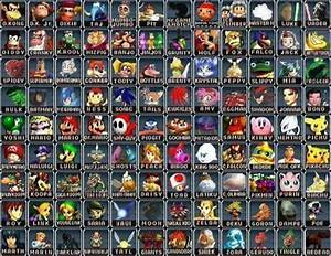 Create A Characters From An Old Fake Super Smash Bros