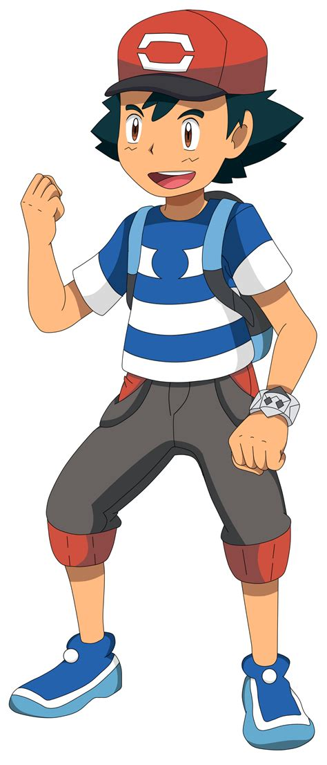 ash pkm sun and moon anime by waito chan on deviantart