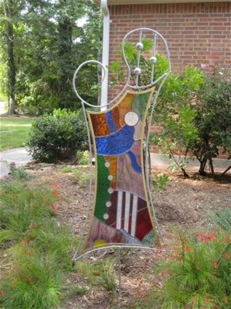 stained glass projects for outdoors 117 best stained glass garden stakes images on pinterest stained glass stained glass projects