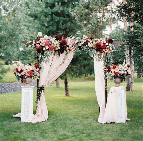 diy wedding flowers decoration 20 diy floral wedding arch decoration ideas