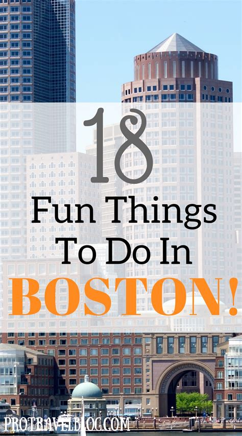 18 Fun Things To Do In Boston This Weekend Or Today