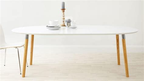 White Oval Extending Dining Tables Dining Room Ideas