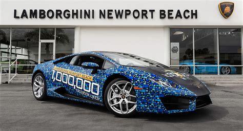 Lamborghini Dealer In California Celebrates 1 Million