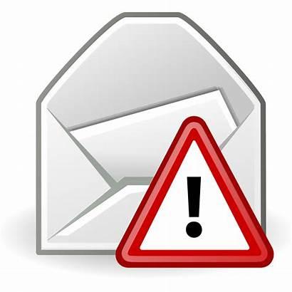 Alert Email Message Mail Open Svg Alerts