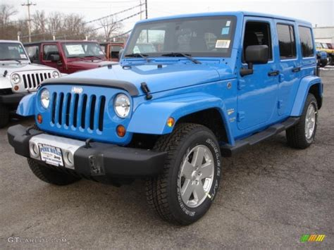 jeep blue interior 2011 cosmos blue jeep wrangler unlimited sahara 4x4